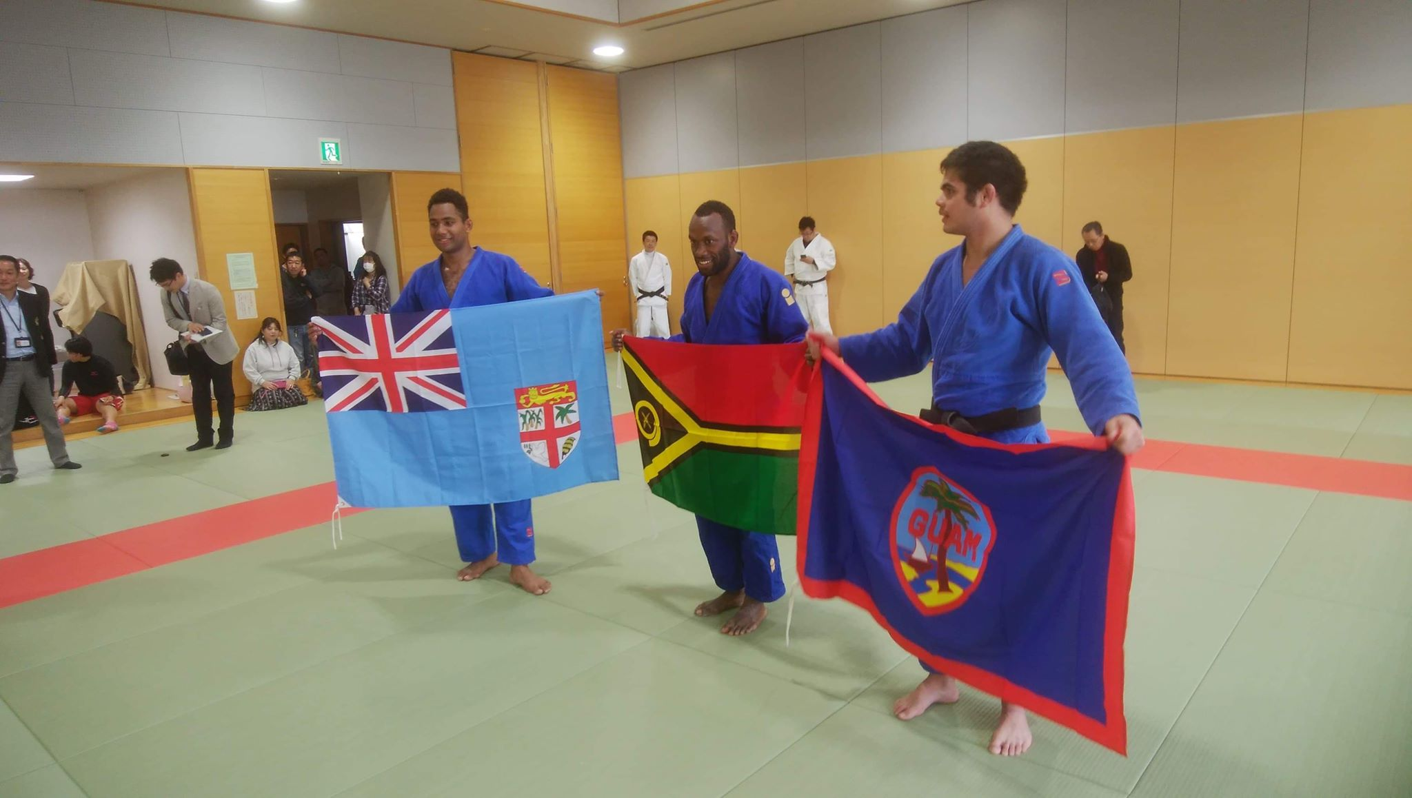 Joe Mahit and the Oceania Team arrived for training in Japan